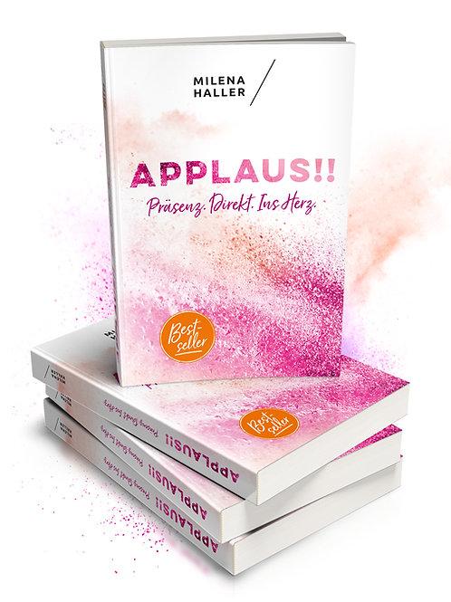 """Buch """"Applaus - Präsenz direkt ins Herz"""""""