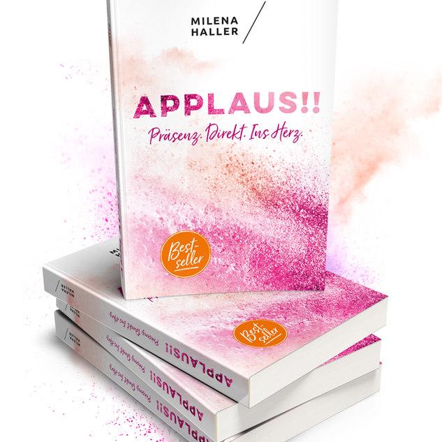 Buch Applaus Milena Haller