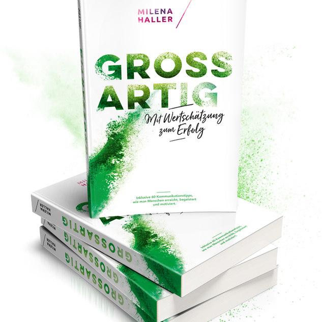 Buch Grossartig Milena Haller