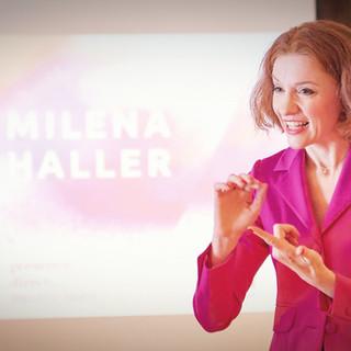 Milena Haller Speach @ Suisse Banking Advisory Zürich