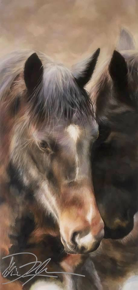 Peace Brown Horse