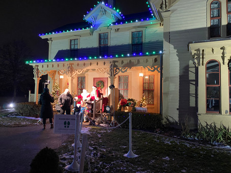 Night of Lights at Greenmead Historical Park