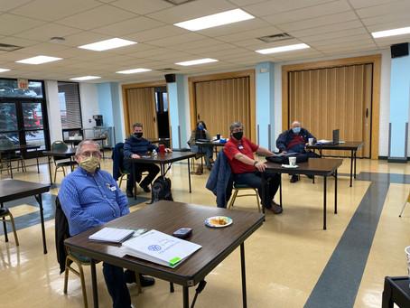 Livonia AM Rotary Meets at the Livonia Senior Center