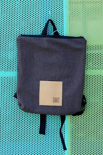 Street bag marrón bolsillo claro
