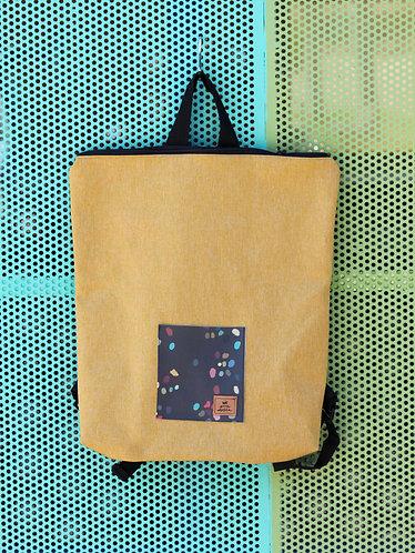 Street bag amarilla bolsillo terrazo