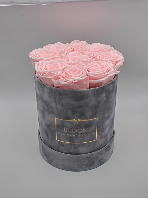 Infinity Box Velvet Midi - Baby Rosa