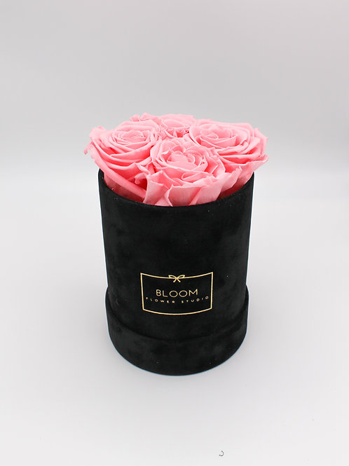 Infinity Box Velvet Small - Pink