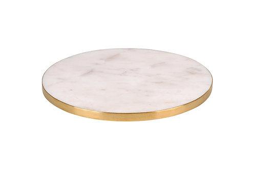 Marmorplatte rund, S