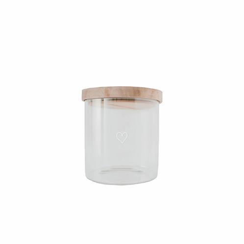 Eulenschnitt Vorratsglas - 13cm