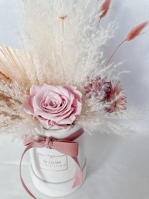 "Dried Flowers Box ""I love Mama"""