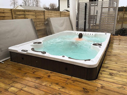 12fX Hydropool Swim Spa