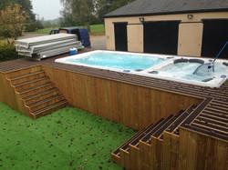 19DTfX Hydropool Swim Spa