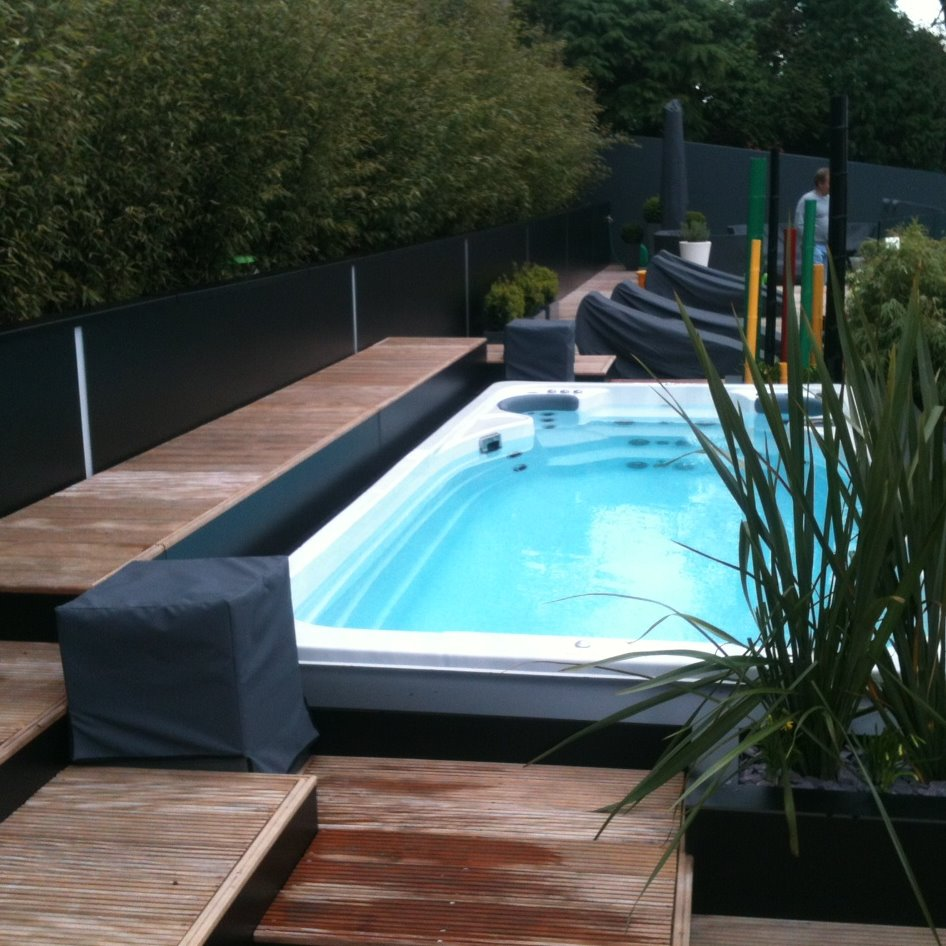 Hydropool 14fX Swim Spa