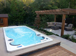 17fX Hydropool Swim Spa