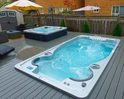 14fX Hydropool Swim Spa & Hot Tub