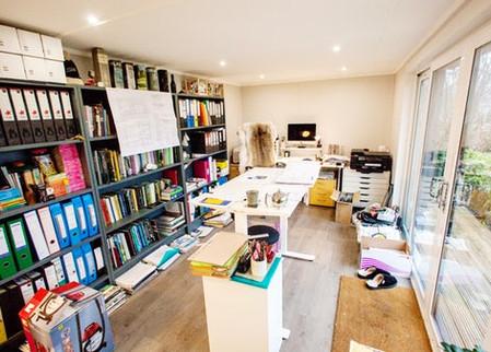 Large Garden Office internal