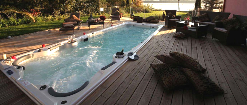 19fX Hydropool Swim Spa