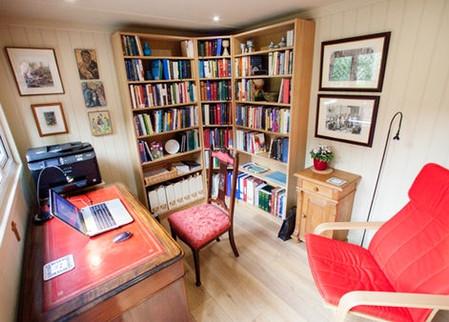 Garden office internal