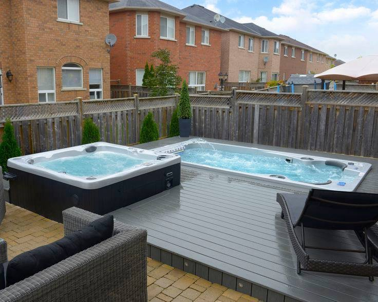 14fX Hydropool Swim Spa & Hot Tub