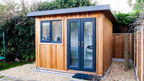 Compact garden office