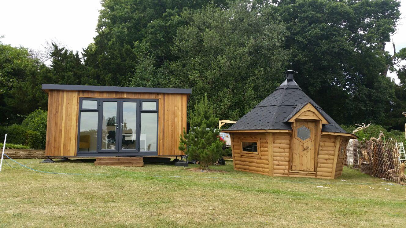 10m² Arctic Cabin & Garden Room