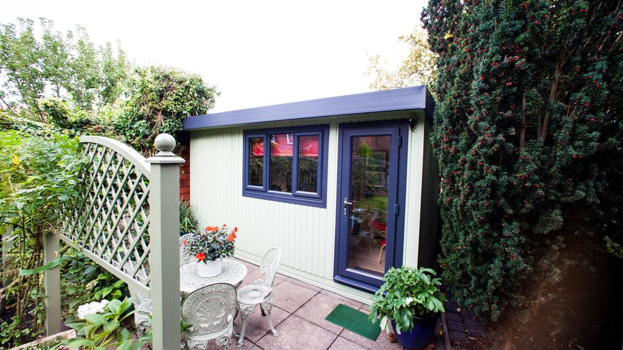 Painted Garden Office