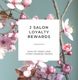 J Salon Loyalty Rewards