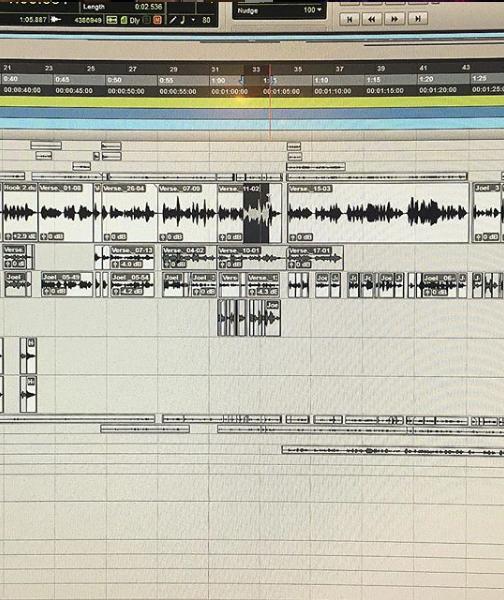 Joel Simmy - Single - Rap vocal session with plenty of edits!