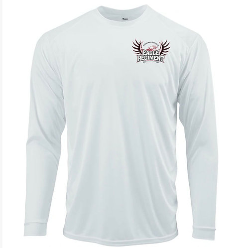 Long Sleeve White or Black UV Shirt with ER Logo