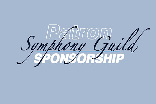 Patron Corporate Sponsor-SYMPHONY GUILD