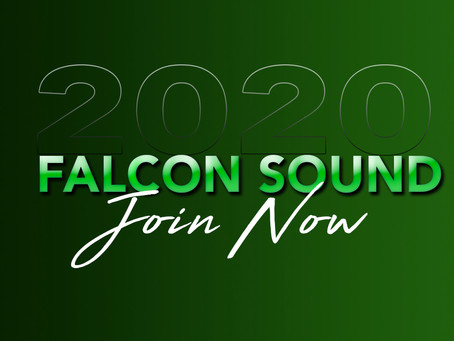 JOIN THE FALCON SOUND!