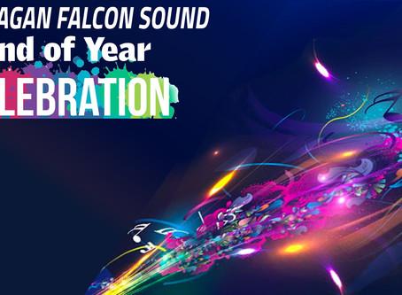 The 2020 FALCON SOUND VIRTUAL BANQUET STARTS NOW!