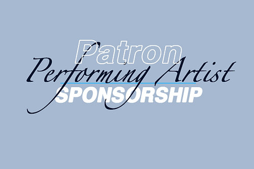 Patron Corporate Sponsor-PERFORMING ARTIST