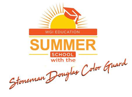 WGI SUMMER SCHOOL WITH THE STONEMAN DOUGLAS COLOR GUARD!