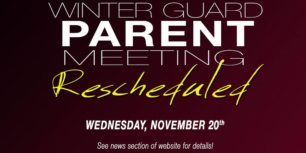 WG PARENT MEETINGS