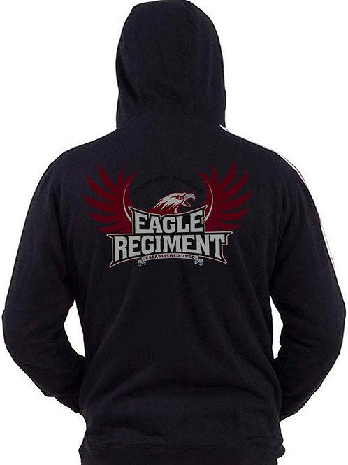 Black Eagle Regiment Zipped Hoodie