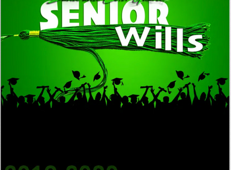 SENIOR WILLS & MEMORY BOOK