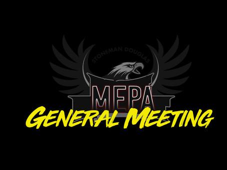 MEPA PARENT/STUDENT MEETING TONIGHT