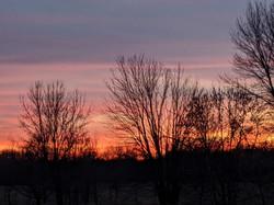 Sunset on the Farm 1
