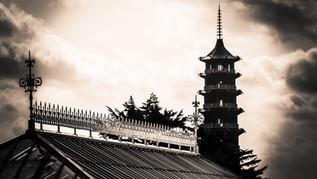B&W Pagoda & Temperate House