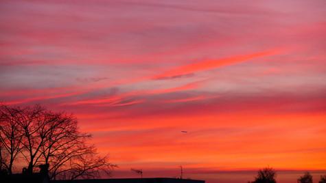 Winter Sunset III