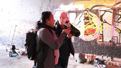 Gordon giving Nikon tips to Geet