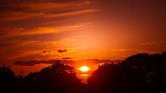 Deep Birthday Sunset - Ealing