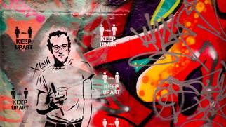 Stencil Art by Artist XLVII