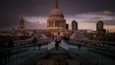 St Pauls & Millennium Rainbows