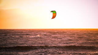 Kite Surfer in Action II