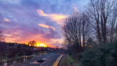 South Ealing Sunset