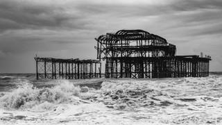 Stormy West Pier