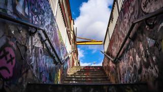 Graffiti Staircase