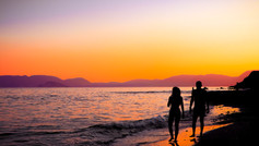 Couple at Sunset - Zante
